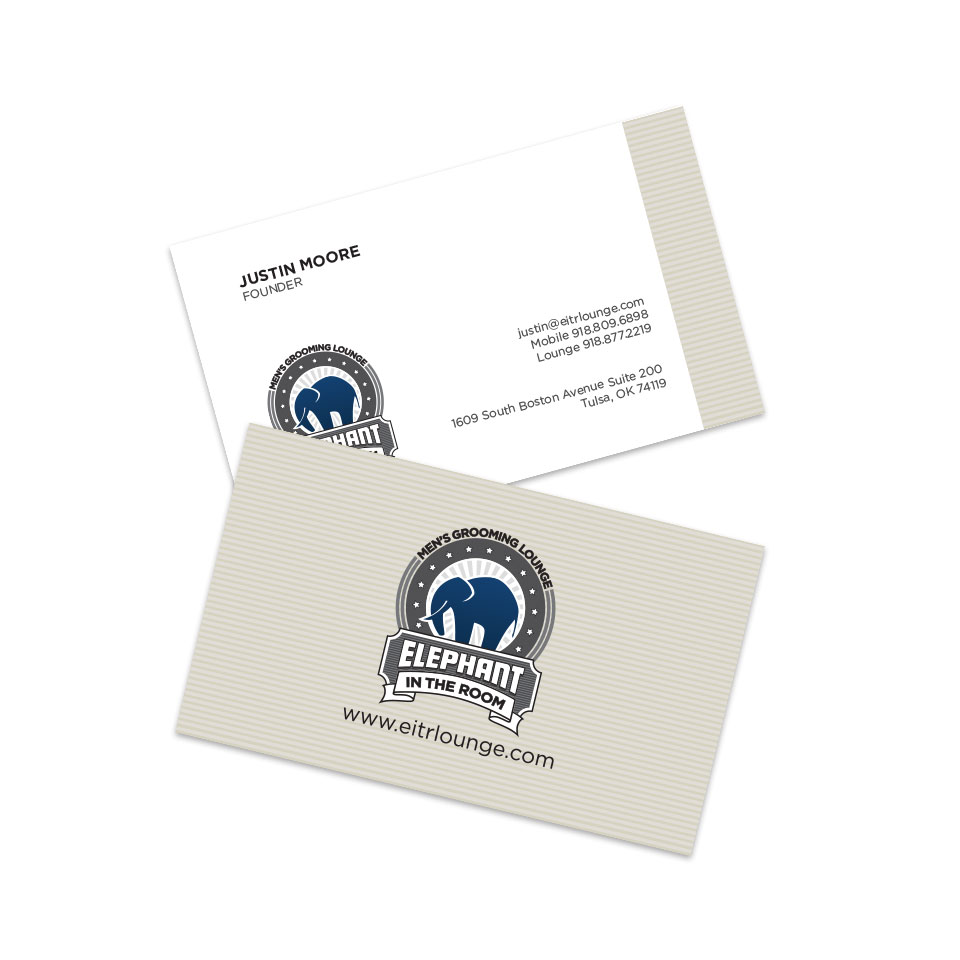 Elephant in the Room Business Cards | design one four