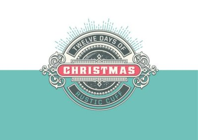 Rustic Cuff – 12 Days of Christmas Marketing Promo